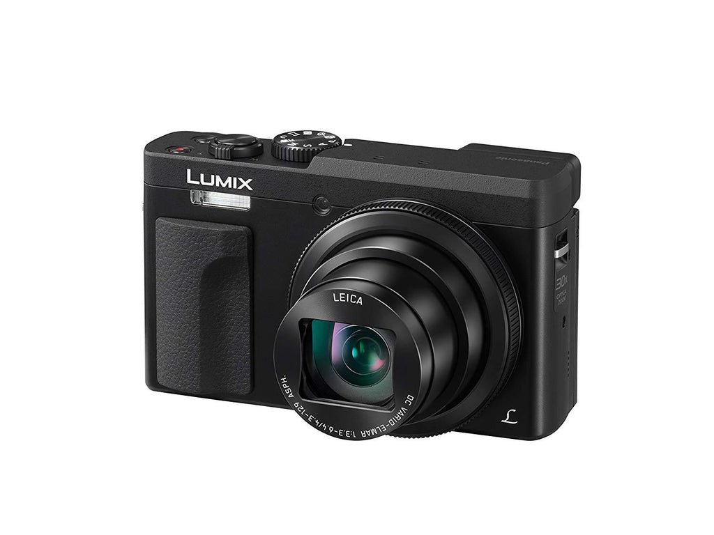 Panasonic DC-TZ90EB-K 30x Zoom Pocket-Sized Compact Travel Camera – Black, 4K Video and Photo, Leica Lens