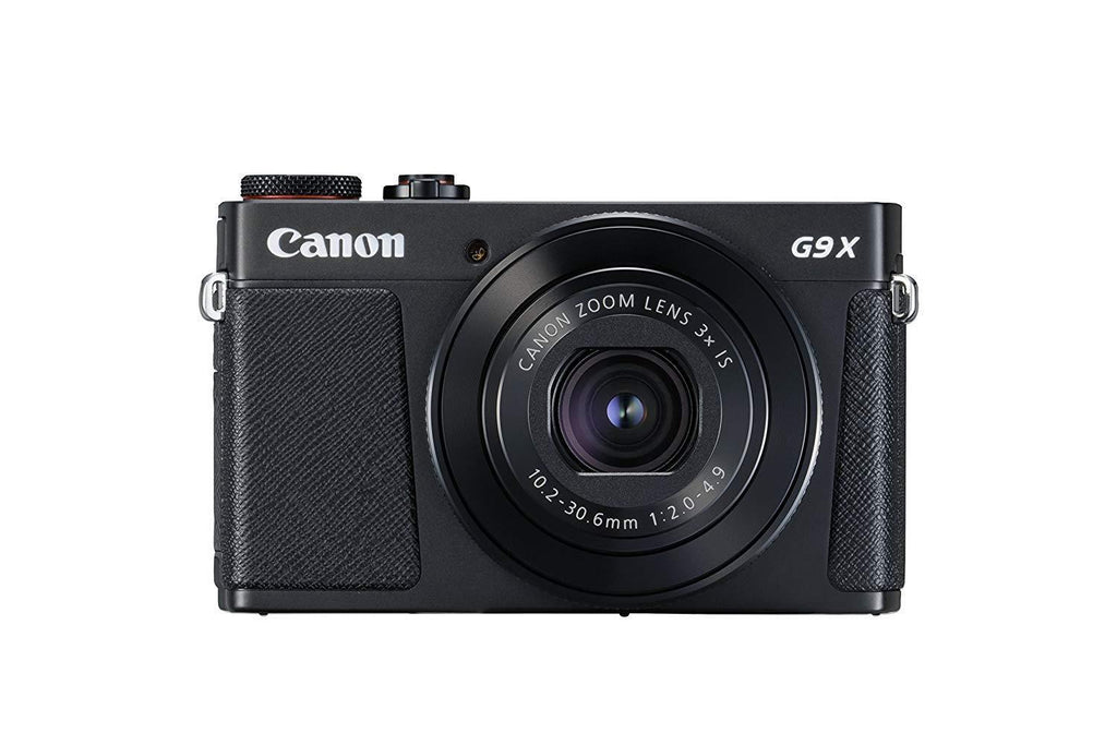 Canon PowerShot G9X Mark II Digital Compact Camera - Black