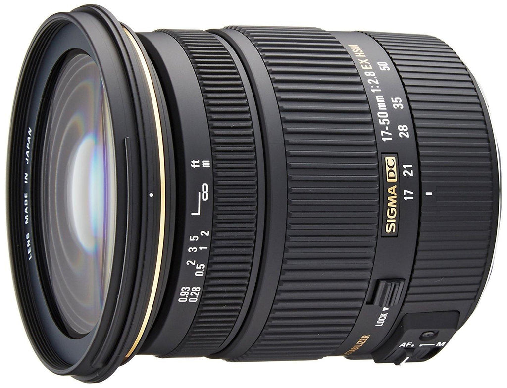 Sigma 583306 17-50mm f2.8 EX DC HSM Optical Stabilized lens