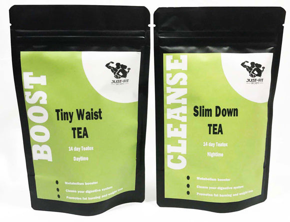 14 day Tiny Waist Boost and Slim Down Cleanse Tea
