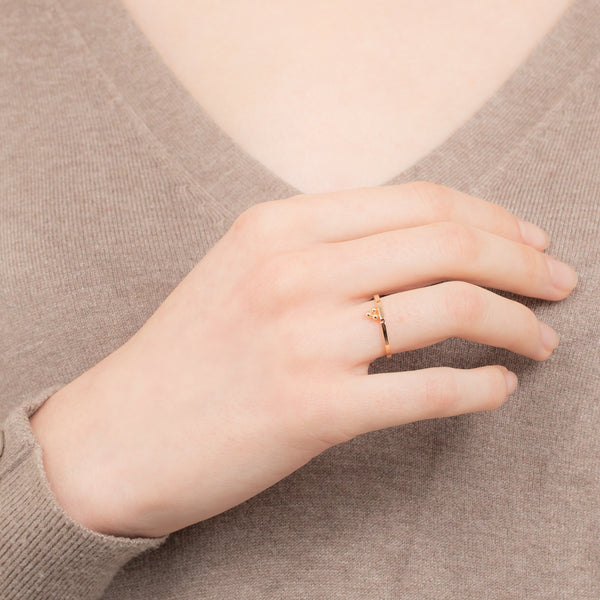 Stacking Pyramid Ring