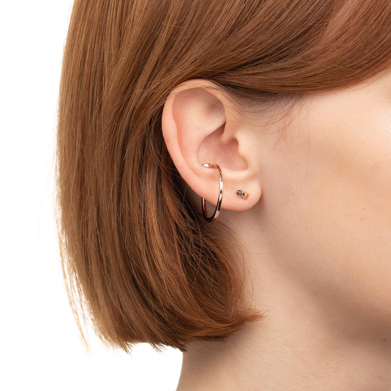 Oversized Ear Cuff M (Rose Gold)