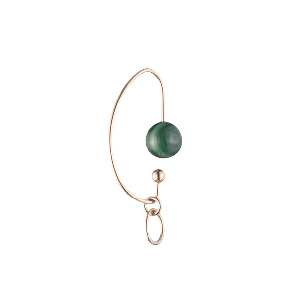 Malachite Miro Ear Cuff