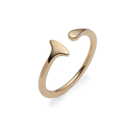 Metal Ear Cuff M (Yellow Gold)