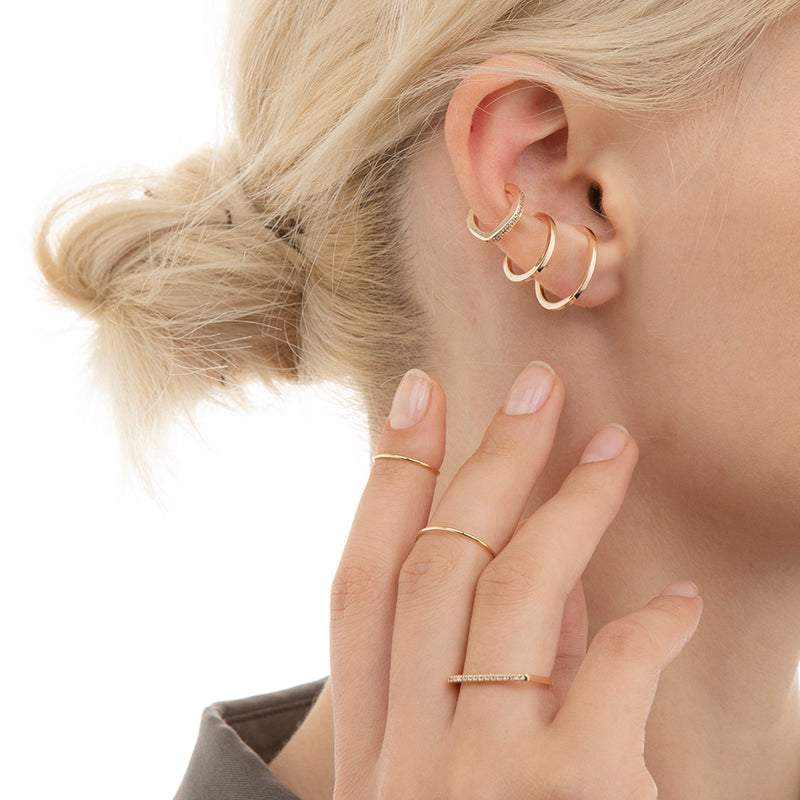 Manhattan Double Line Ear Cuff