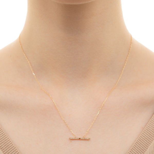 Trapeze Diamond Necklace M
