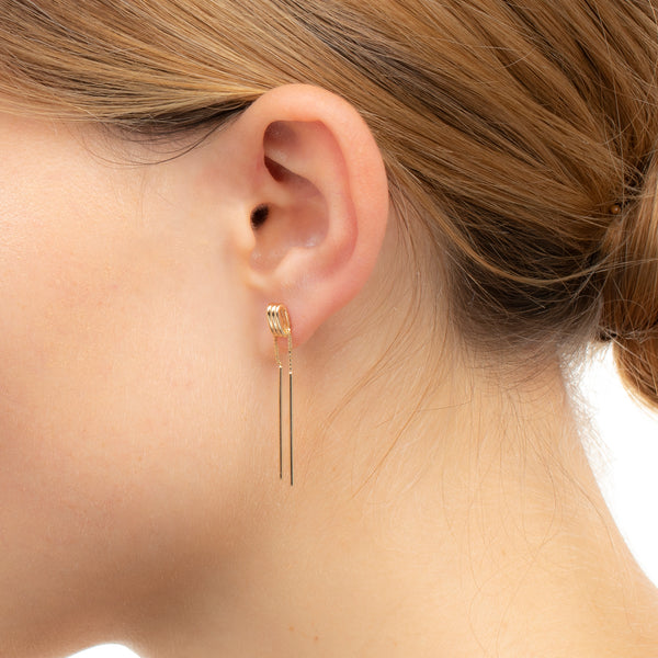 Contortionist Chain Earring S