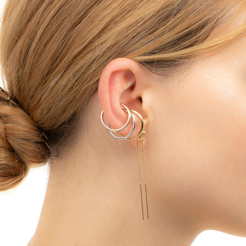 Contortionist Chain Earring M