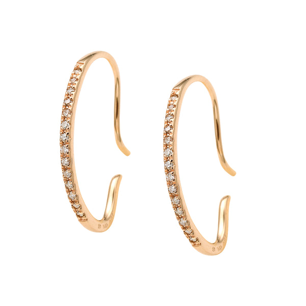 Gossamer Diamond Earrings S