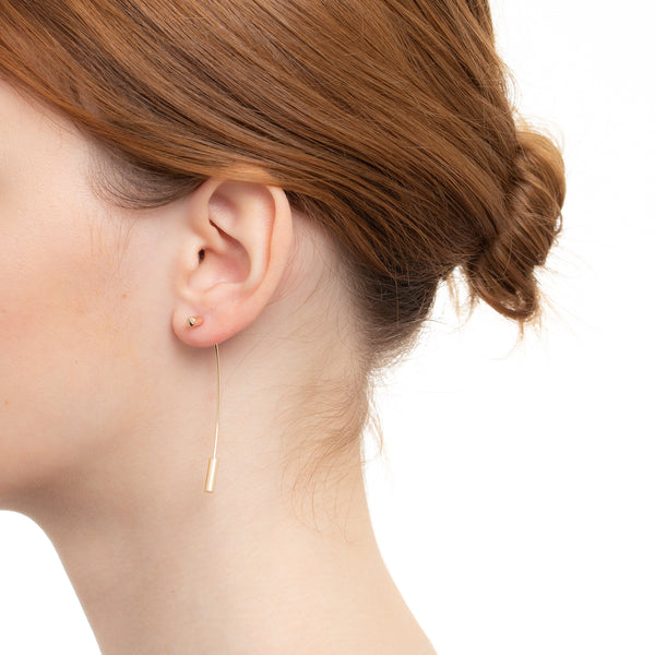 Bird of Paradise Arrow Earring