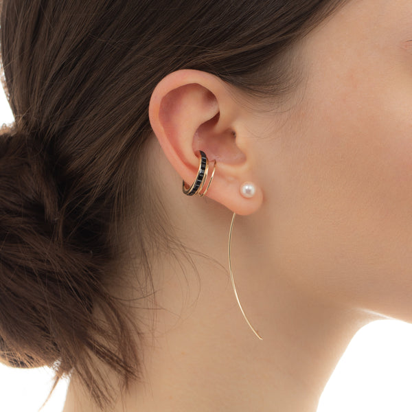 Akoya Pearl Arrow Earring M