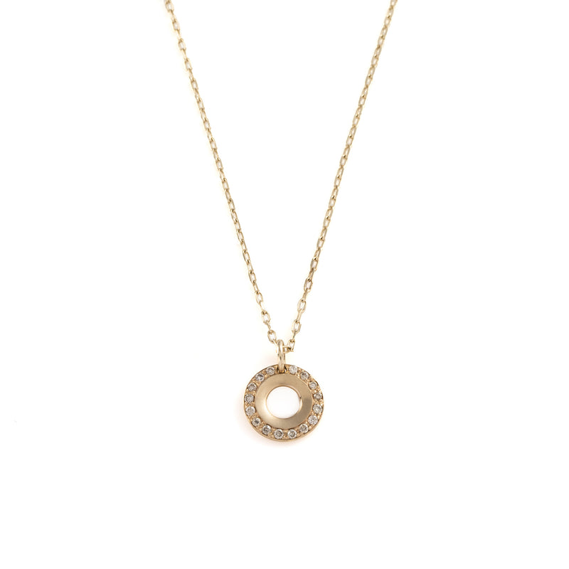Wheel of Fortune Diamond Necklace