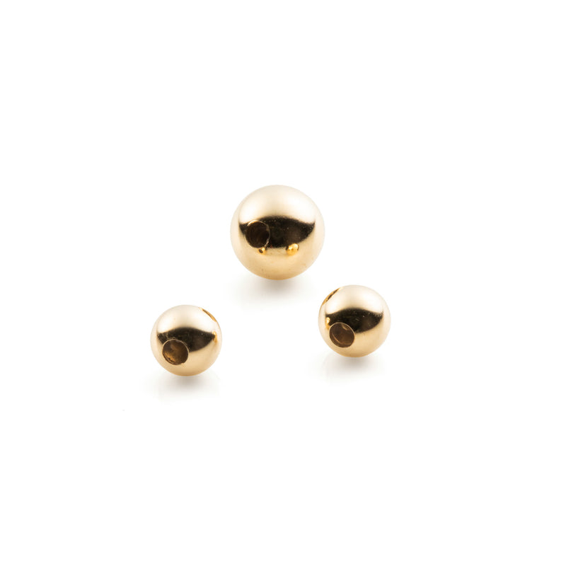 Gold Beads for Spear Earring