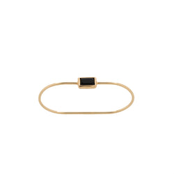 Two Finger Ring Onyx