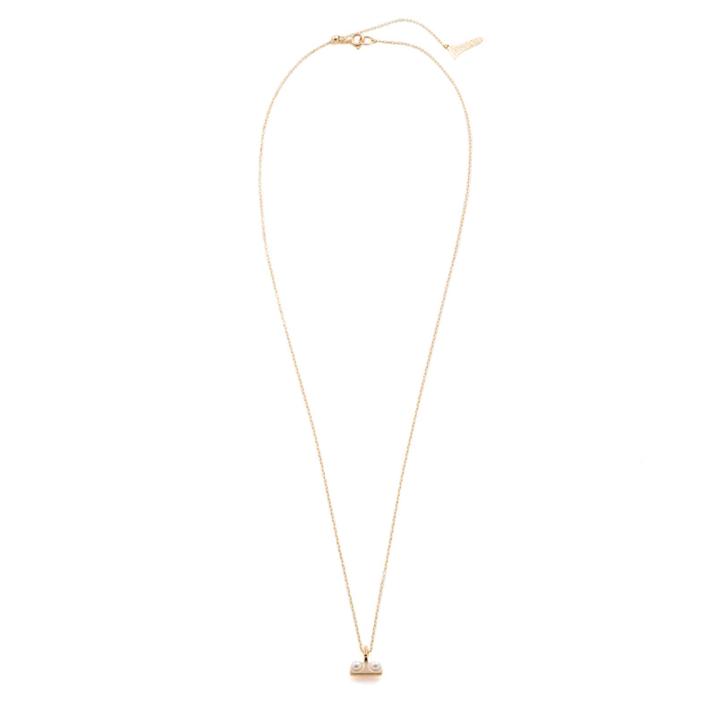 Beluga Pearl Necklace S