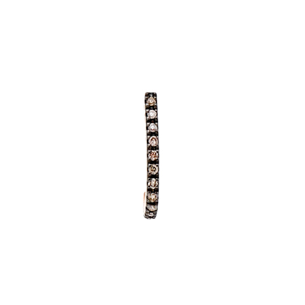 Inner Hook Earring S (Black Ruthenium Plated)