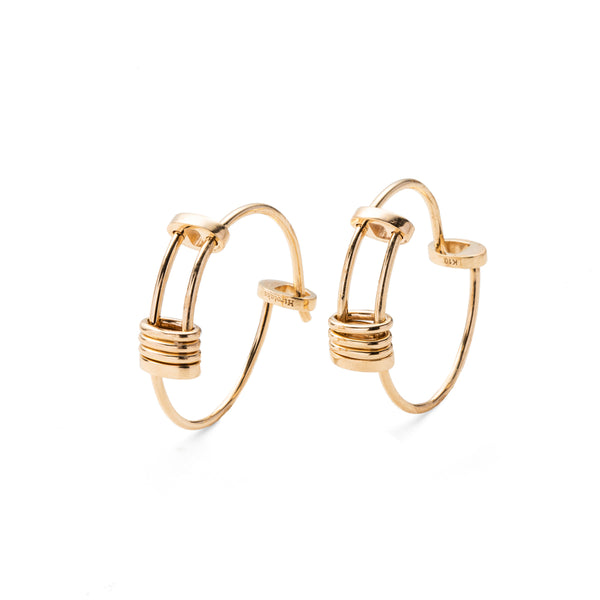 Contortionist Hoop Earring M size