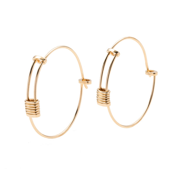 Contortionist Hoop Earring L size
