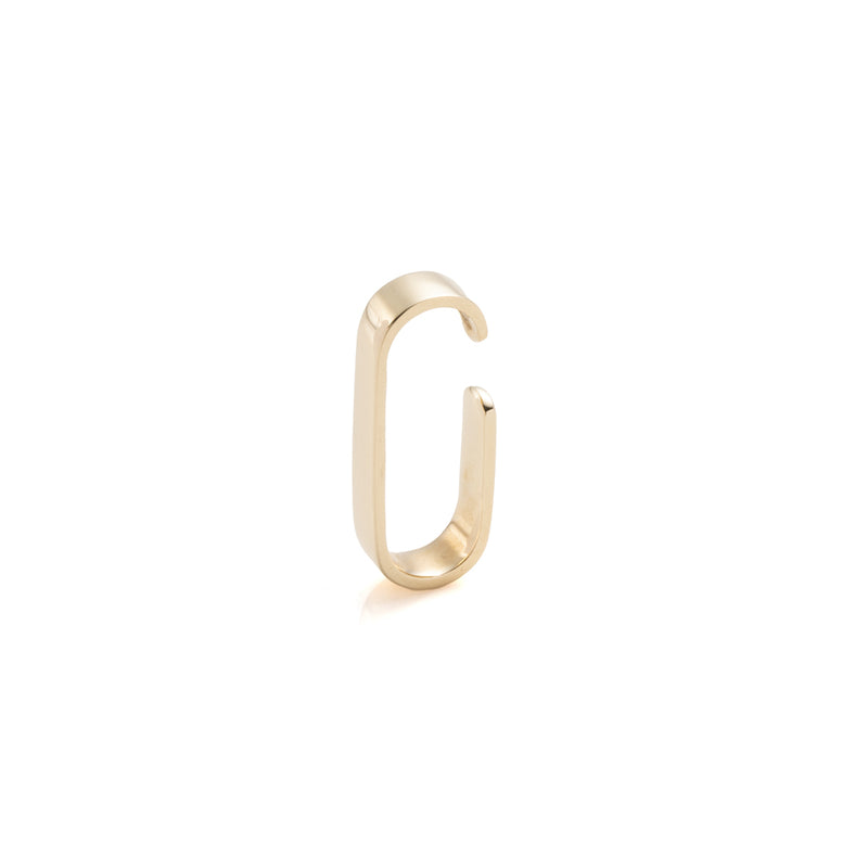 Oblong Flat Ear Cuff