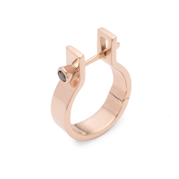 Indústria Diamond Earring 5mm (Rose gold)