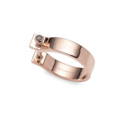 Indústria Diamond Ring 5mm (Rose gold)