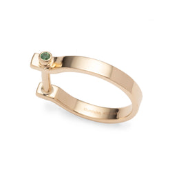 <Online Exclusive> Indústria Emerald Ring 3mm