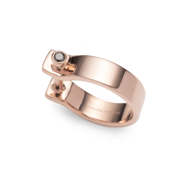 Indústria Diamond Pinky Ring 5mm (Rose gold)