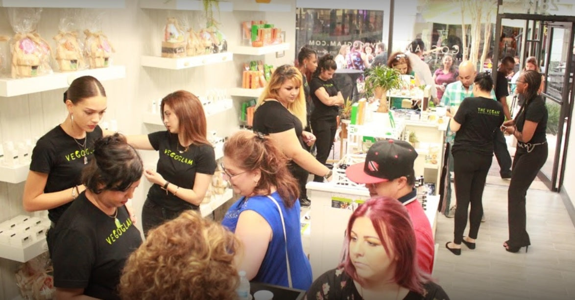 Inside The Vegan Cosmetics Store- South Florida location