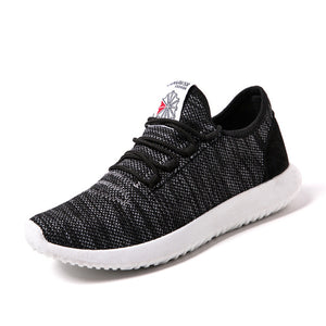 Breathable Lace-up Lightweight Sneakers