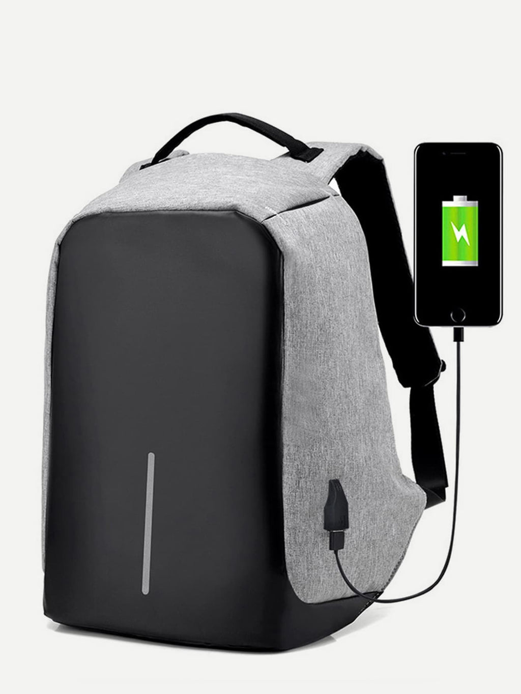 Men USB Charging Port Backpack