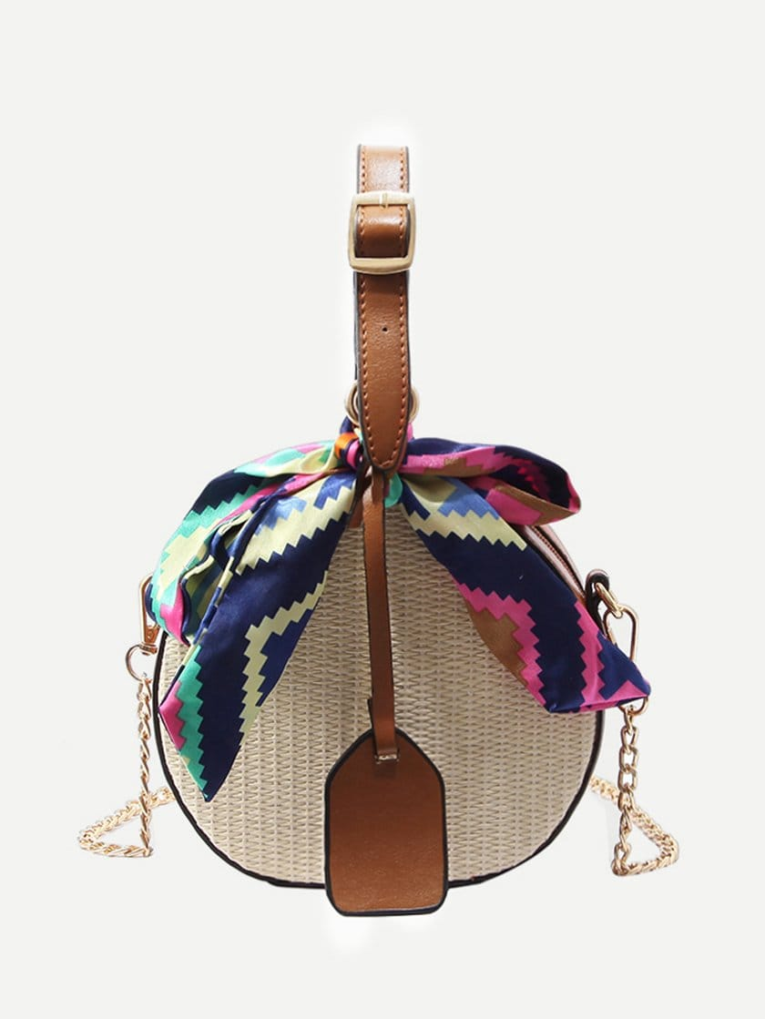 Twilly Scarf Woven Bag