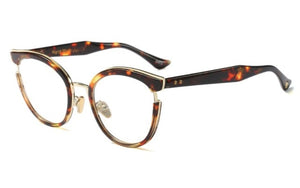 Cat Eye Fashion Metal Glasses Frames