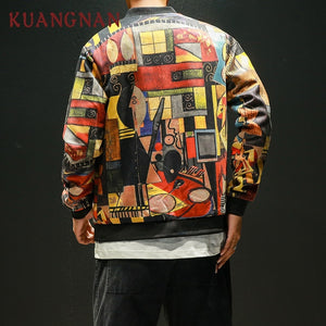 Japan Style Hip Hop Bomber
