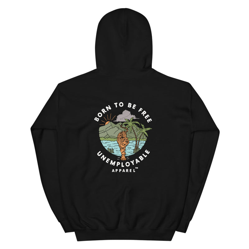 HOODIE UNEMPLOYABLE™ N°1 - BORN TO BE FREE / LIMITED EDITION