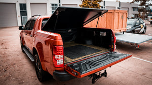 Remote Tailgate Unlocking and Self Opening Kit