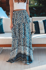 Santorini Ruffle Maxi Skirt / Dress