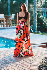 Claudia Ruffle Maxi Skirt/Dress