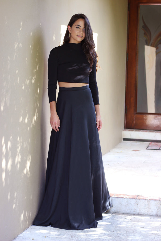 All Night Wrap Maxi Skirt