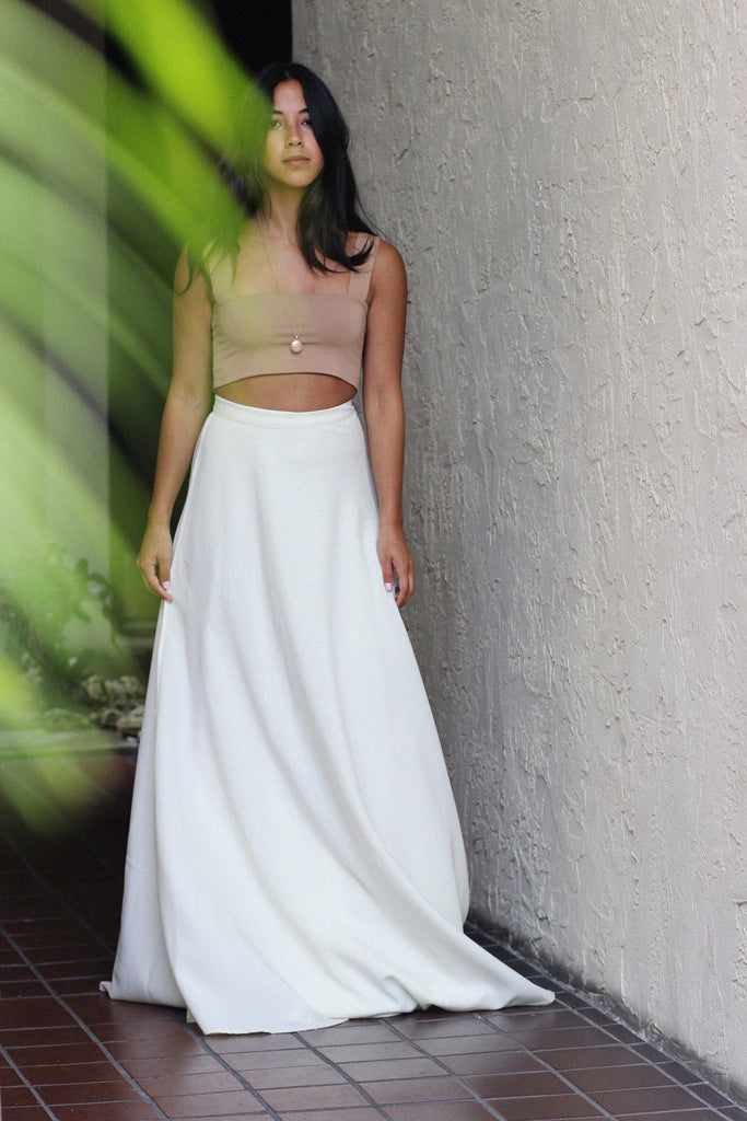 Emma Wrap Maxi Skirt