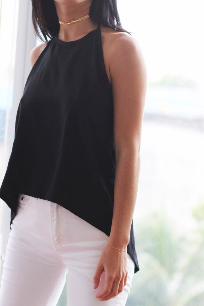Anya Backless Top