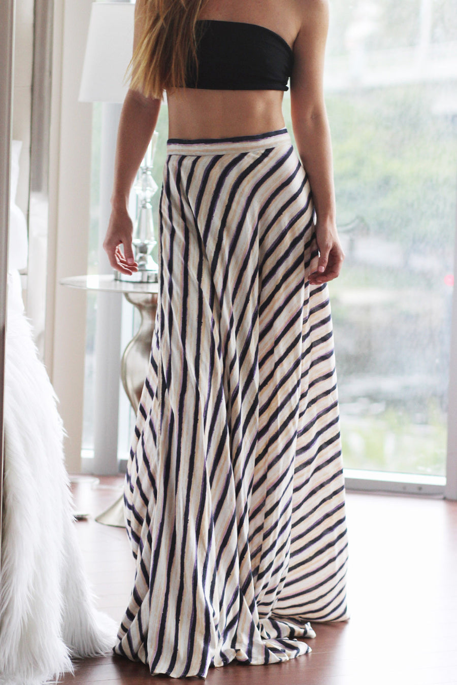 Adalyn Wrap Maxi Skirt