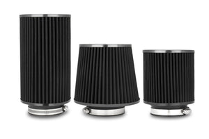 "3"" Black Performance Air Filters (Universal)"