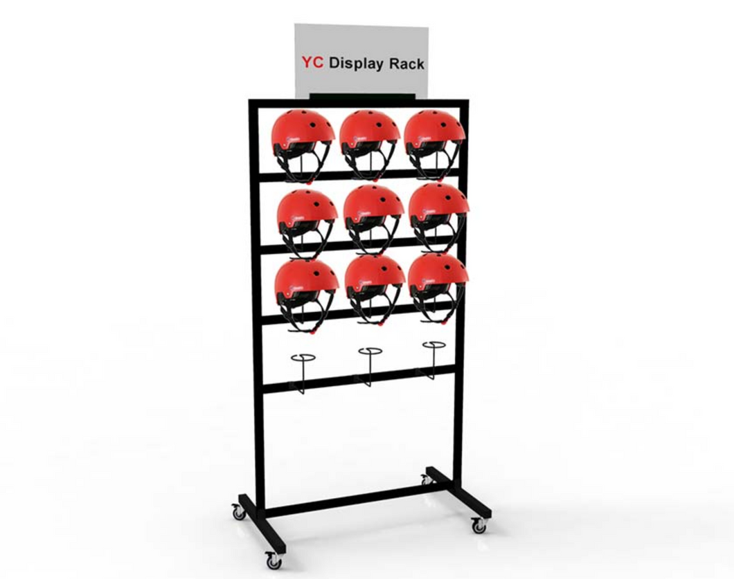 Metal Helmet Rack