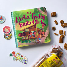 Load image into Gallery viewer, The Aloha Friday Keiki Club - A Keiki Kaukau Book