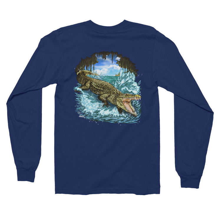 King Croc Long Sleeve Tee