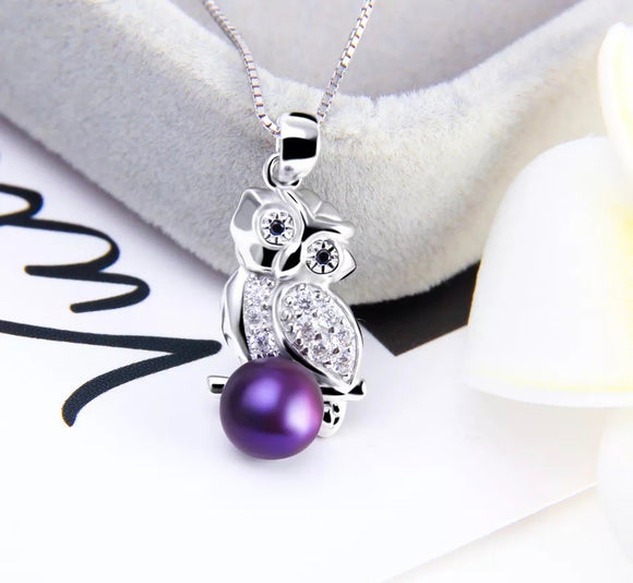 Sterling Silver Owl