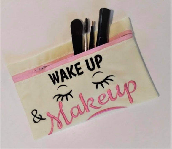 Make Up Bag with Brush Set, Make up Removers, & Microfibre Hair Turban
