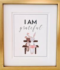 I Am Grateful Picture for kids room