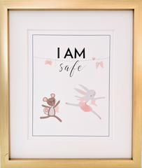 Affirmation print for baby