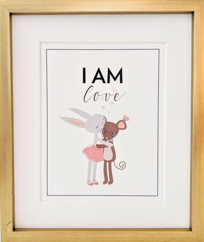 "Kids ""I Am LOVE"" Affirmation"
